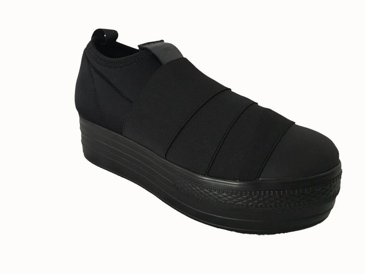 FESSURA scarpa donna NERA, modello DOUBLE 3 BAND neoprene ed elastico, con para…