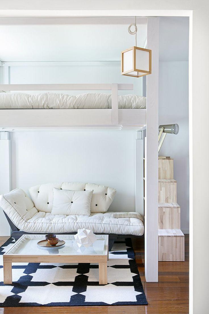 Pi di 25 fantastiche idee su arredamento camera da letto - Camera con soppalco ...