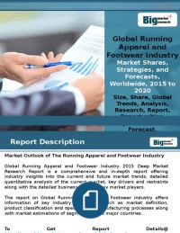 Fitness Awareness Is Driving Global Running Apparel and Footwear Industry Market