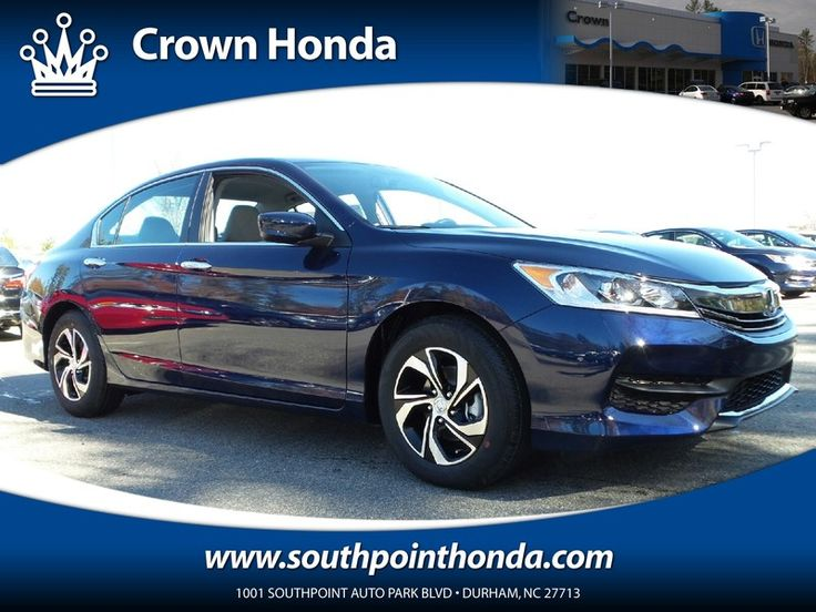 New 2016 Honda Accord LX For Sale | Serving Raleigh, NC |