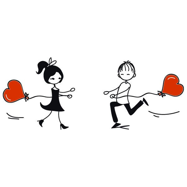 Desenhos de namorados: Imagens, fotos e 5 Moldes para Dia dos Namorados,