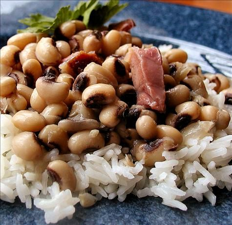 Hoppin John -- a great new years day dish in the South - brings you ...