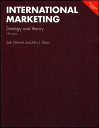 International Marketing: Strategy and Theory 5th Edition