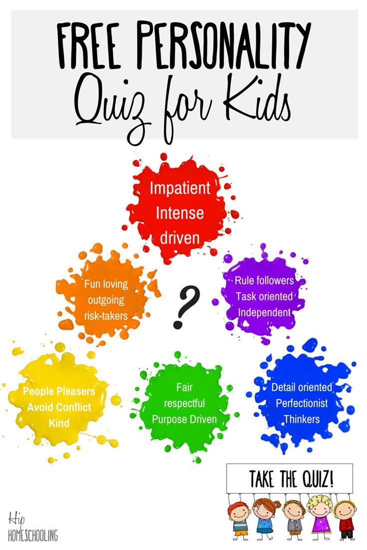 Free personality test for kids to help you understand their color. Personality test | Personality test quiz | Personality Quizzes