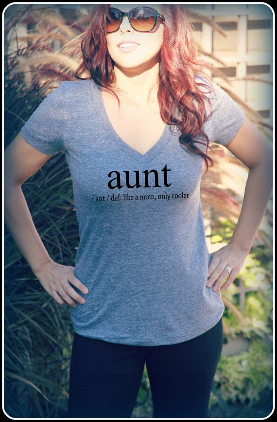 Aunt Shirt Auntie Shirt Aunt Definition Shirt by TheStickerPlace