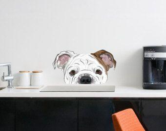 Reno gruñón Bulldog taza  Grinch Navidad taza regalo de