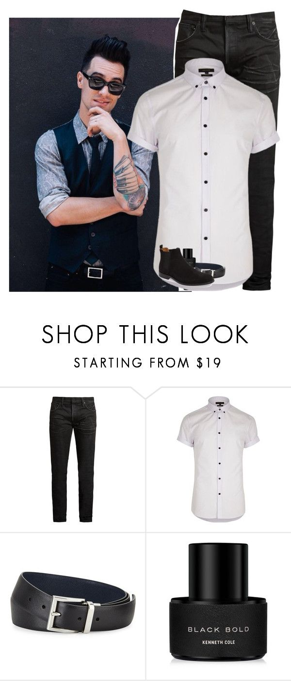 """""""Birthday ootd/ date with my queen\\ Brendon"""" by madxhatt3r ❤ liked on Polyvore featuring MasterCraft Union, River Island, Prada, Kenneth Cole, ALDO, men's fashion and menswear"""