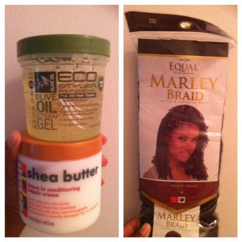 Bee's Marley Twist Tutorial- Natural Hair Styles