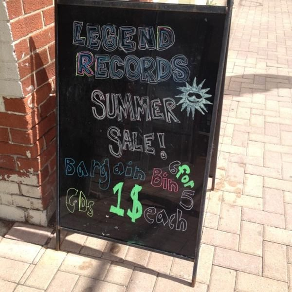 Photo taken at Legend Records by Celebrationson K. on 8/6/2012