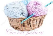 English Crochet pattern made by me, MGCreation83