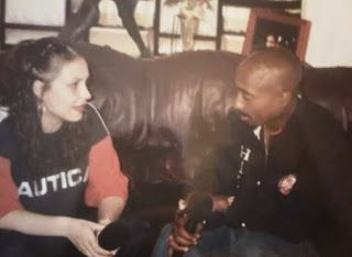 MY SPIZZOT: Rare 2Pac Interview With Angie Martinez