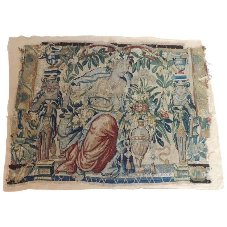 18th Century Aubusson Tapestry Panel | From a unique collection of antique and modern tapestries at https://www.1stdibs.com/furniture/wall-decorations/tapestry/