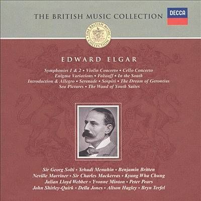 Elgar: 1. Allegro-1. Allegro - Sir Georg Solti & London Philharmonic Orchestra & Kyung Wha Chung