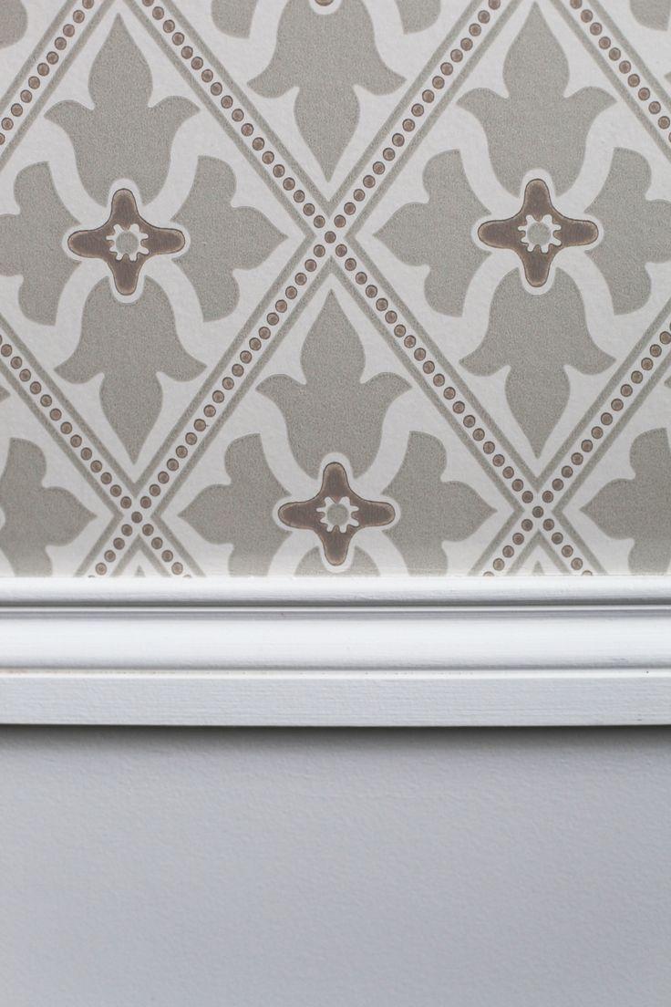 Papier peint Little Greene, Bayham Abbey. Chambre d'hôtel Paris. Florence Tory www.f-tory.com