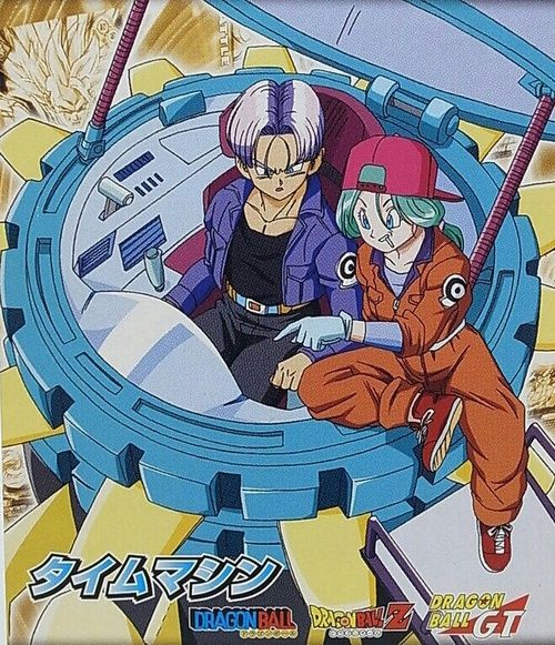Imagem de future trunks and future bulma