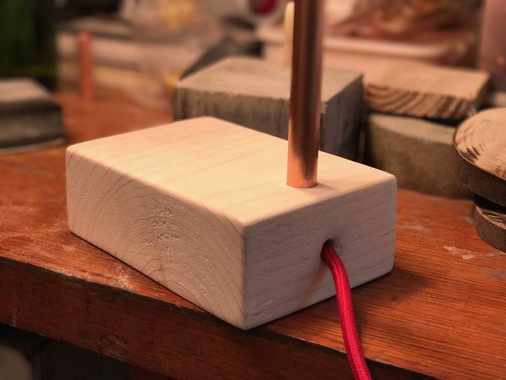 Création 2'3.03 socle en bois