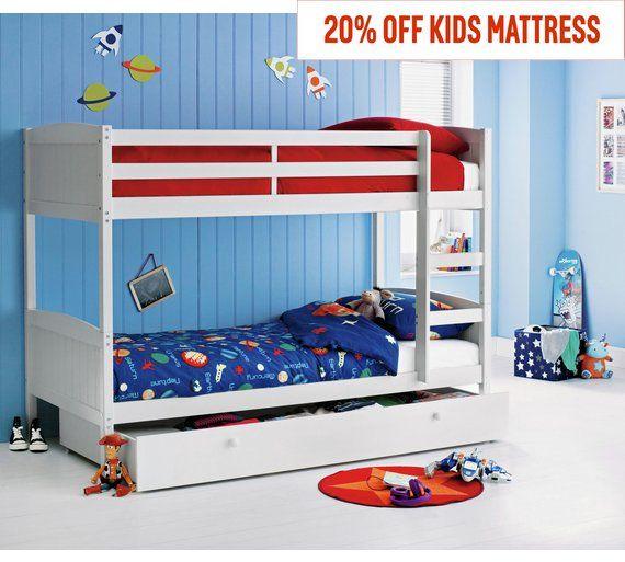 Bunk Bed Frame With Storage, Mattress Storage Covers Argos