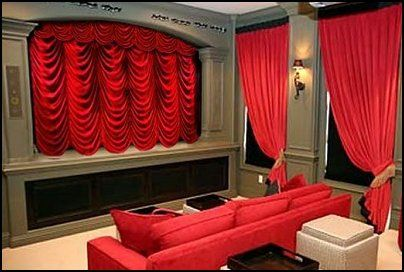modern unique theme home theater designs | Decorating theme bedrooms - Maries Manor: Movie themed ...