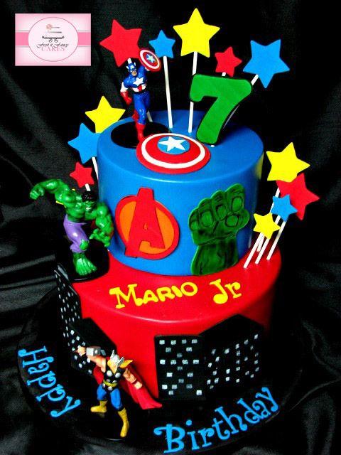 avengers birthday cake - Google Search