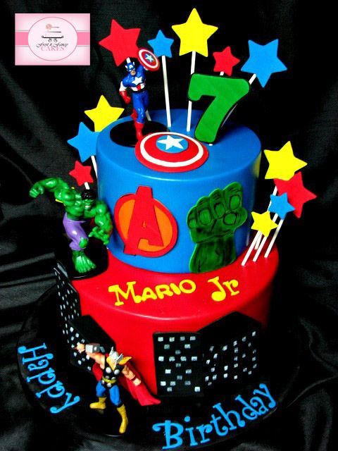 avengers birthday cake - Google Search