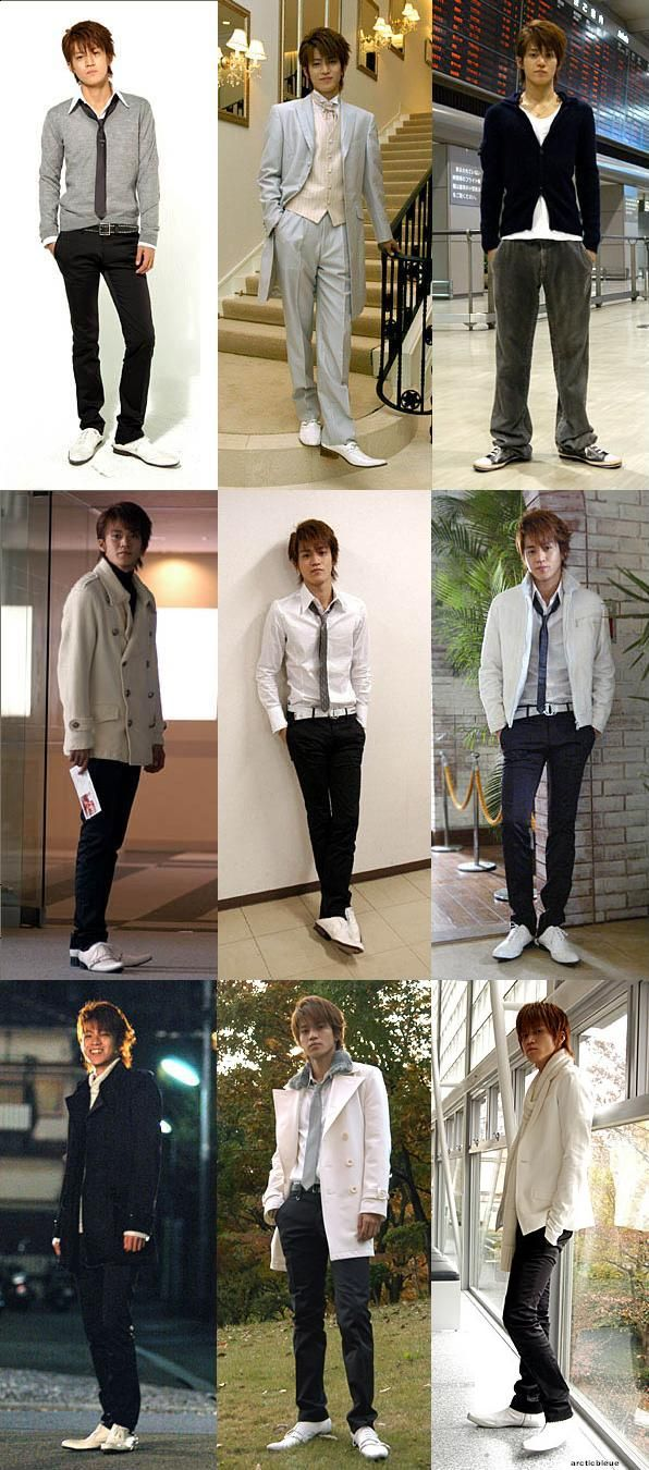 Hanzawa Rui (Oguri Shun) outfits