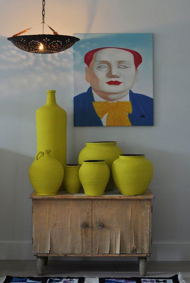 Art & ceramics of the console