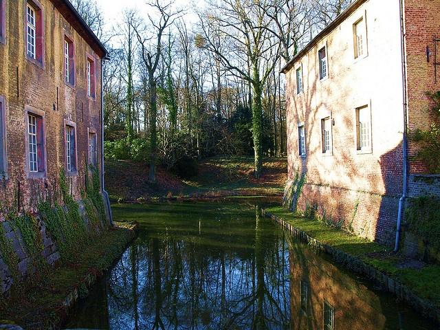 Epic Castle Dyck near Grevenbroich Germany by Andy von der Wurm via Flickr