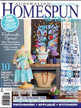 Australian Homespun Issue 109 Vol:13.6 2012