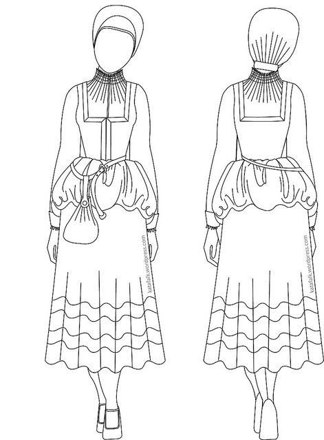For this post in English please click here! Detta är en guide för att enklare förstå 1500-talets kvinnodräkt i Nordeuropa med fokus på…