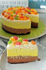 Pääsiäisen kunniaksi leivoin kakun. Joskus olen jaksanut panostaa enemmän tuohon koristeluun, kuten vaikka tässä versiossa.  Nykyään olen ...