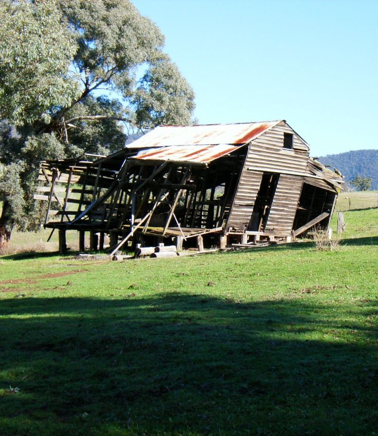 Ravaged by time - Old hut - East Gippsland Victoria. Photo by Doug Livingstone