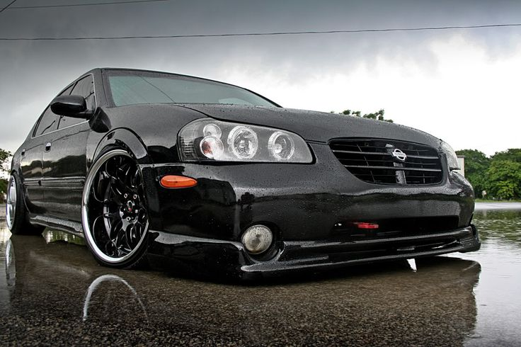 Nissan Maxima Stanced Hellaflush Stanced Pinterest