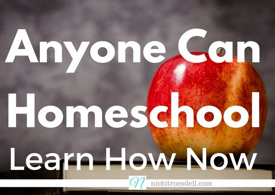 Do you assume homeschooling is out of reach because of your circumstances? Single? One income? Special needs child? I'm here to tell you that #AnyoneCanHomeschool and that it's not as mysterious as you think!