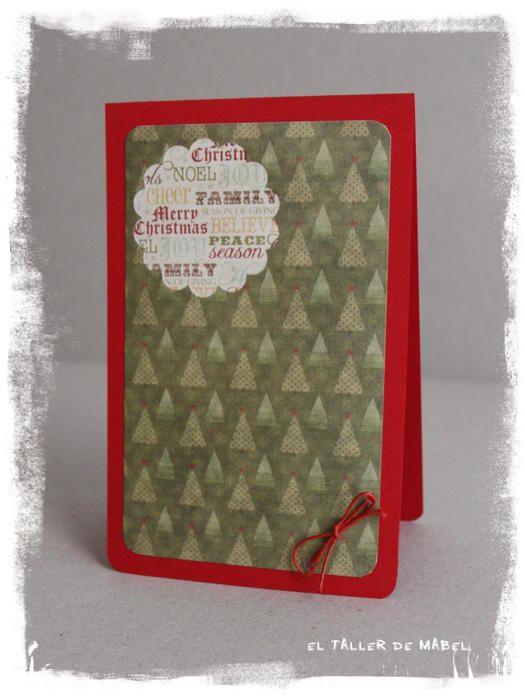 La tarjeta navideña