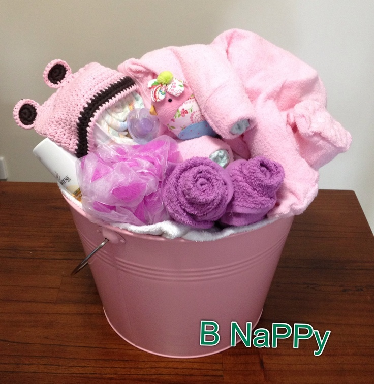 Extra Large Bucket with the LOT. Mum and bub starter pack. - www.bnappycreations.com
