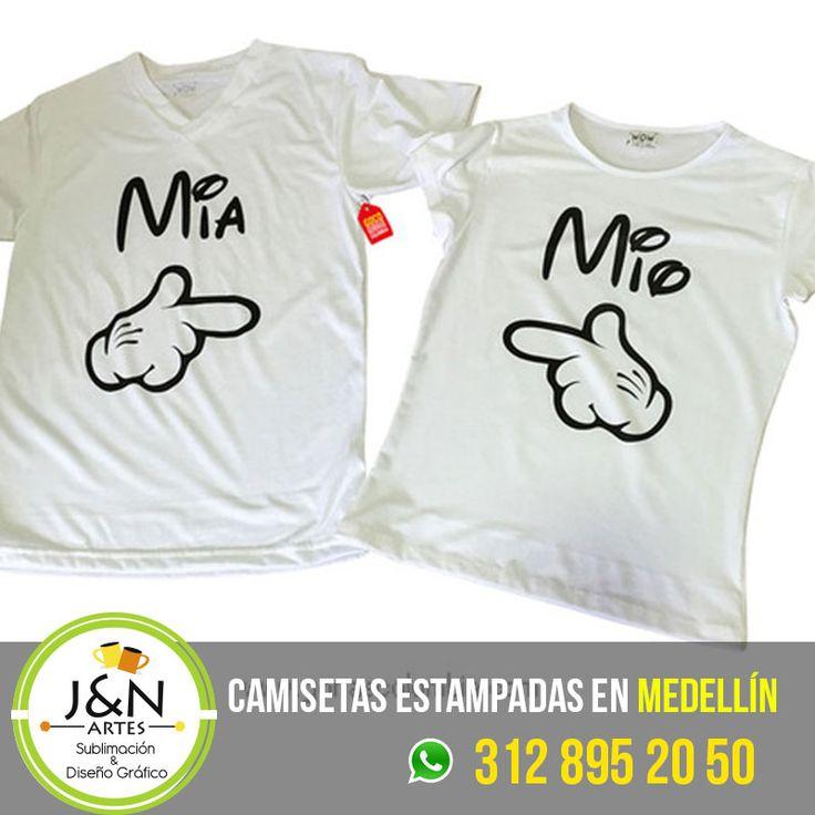 Camiseta Mio Mia Estampada en medellin