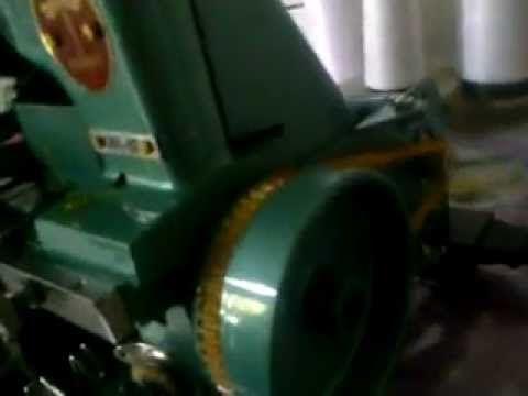 maquina overloque semi-industrial