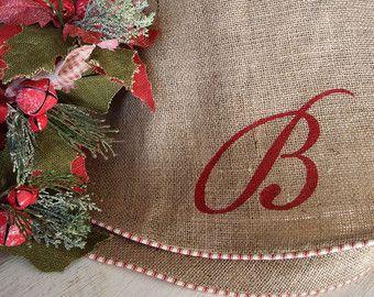 Handmade christmas tree skirt – Etsy