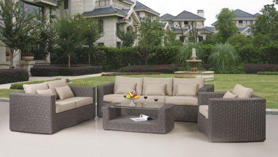 Outdoor Wicker Patio Furniture Sets Enter Home Outdoor Wicker ...
