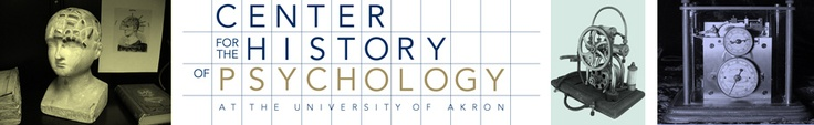 The Center for the History of Psychology.