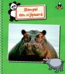 Knutselen stempel een nijlpaard