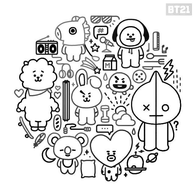 Download Or Print This Amazing Coloring Page Pin By Kadee Taylor On Color Bts Drawings Bts Chibi Bts Drawings Bts Chibi Coloring Pages