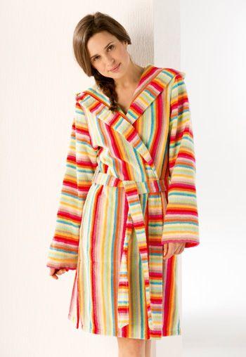 CaWö Bademantel Multicolor Lifestyle mit Kapuze! http://www.handtuch-welt.de/Unsere-Marken/CaWoe/CaWoe-Bademantel/Cawoe-Damen-Bademantel-Life-Style-Kurzmantel-mit-Kapuze-7082-Farbe-multicolor-25.html