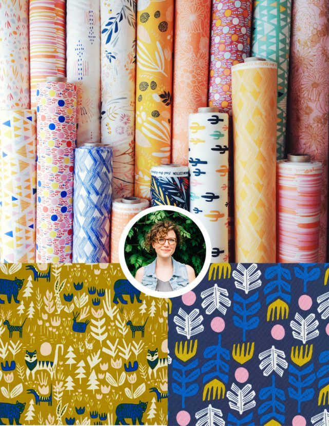 Leah Duncan Fabric Designer To Know Fabric Design Pattern