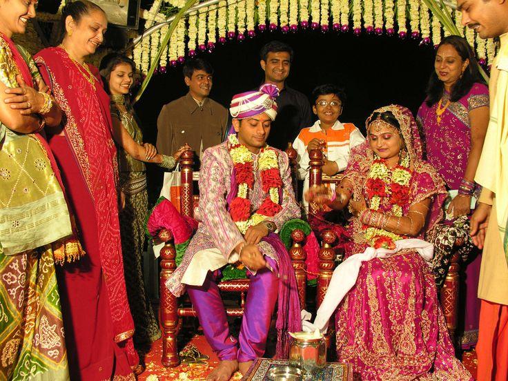 インドのヒンドゥー教の結婚式
