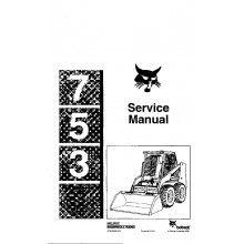 c468d387817a9c537612a287aa1421cb repair manuals service 52 best bobcat manuals images on pinterest repair manuals, skid bobcat 753 wiring schematic at soozxer.org