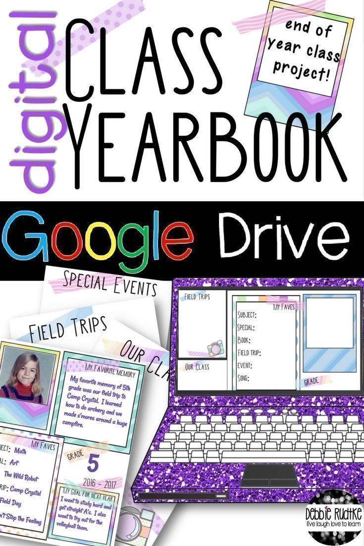 Digital Class Yearbook Project | Kindergarten | Yearbook