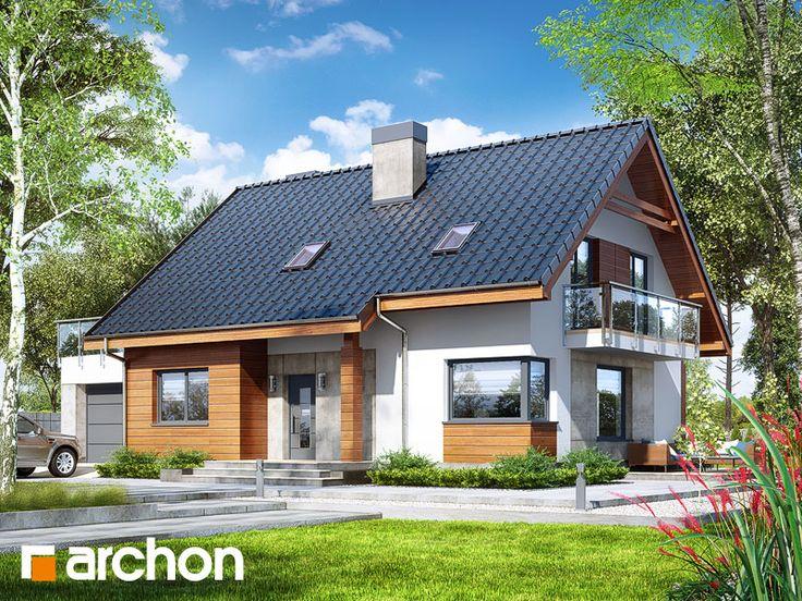 Dom w jabłonkach 4 (G)  133,61 m2 + garaż 26,54 m2 + kotłownia 5,04 m2 Dom jednorodzinny parterowy z poddaszem użytkowym: 5 pokoi, 1 kuchnia, 2 łazienki, spiżarka, kotłownia, garderoby, pom. gosp., kominek, garaż.