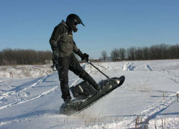 Electric-snowmobile-motorcycle-gasoline-snow-scooter ...