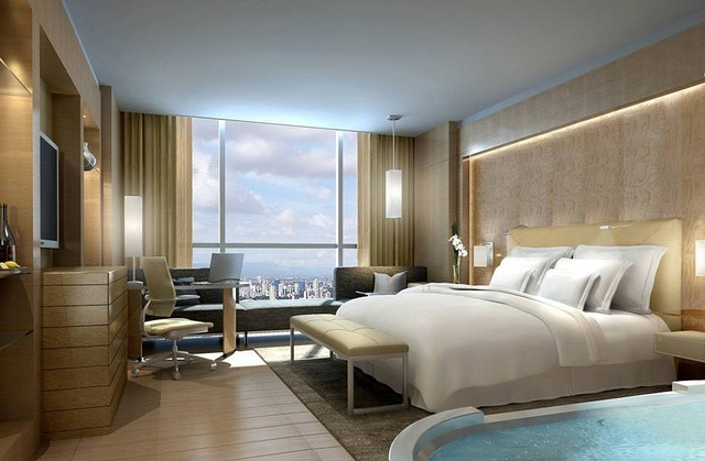 The Westin Lima Hotel & Convention Center—Guest Room by Westin Hotels and Resorts